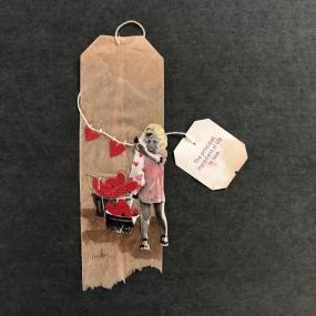 Tea Bag Collage
